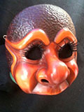 Gullibillia (two tone) - Commedia mask by Newman