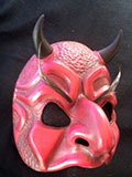 Il Diavolo (with eyebrows) - Commedia mask by Newman