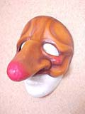 Cacassena - commedia mask by Newman