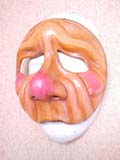 Pepe Napa - commedia mask by Newman