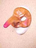 Coviello - commedia mask by Newman