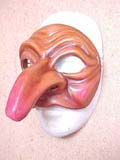 Pasquariello - commedia mask by Newman