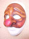 Fichetto - commedia mask by Newman