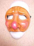 Pedrolino - commedia mask by Newman